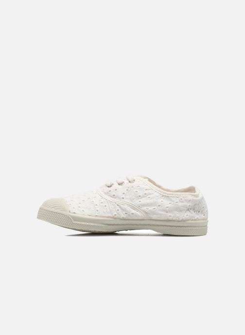 Trainers Bensimon Tennis Broderie Anglaise E White front view
