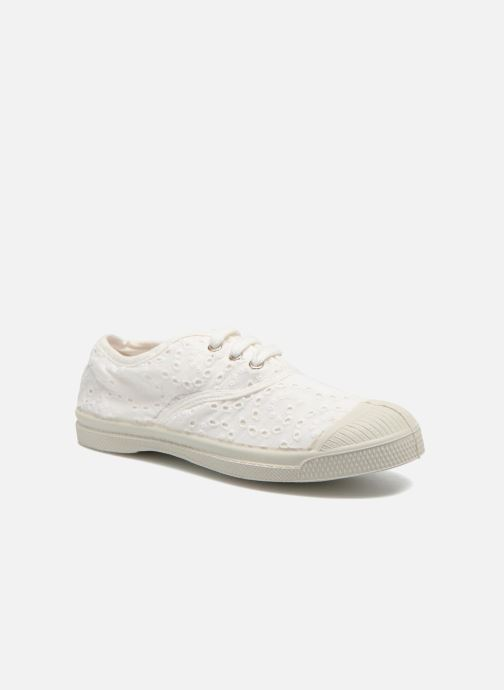 Trainers Bensimon Tennis Broderie Anglaise E White detailed view/ Pair view