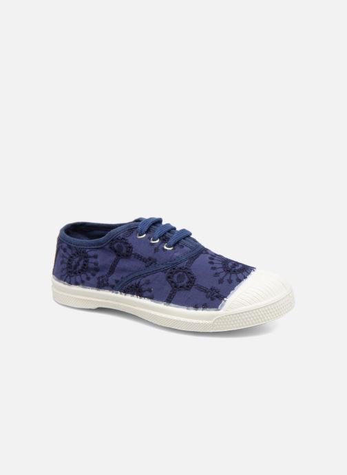 Trainers Bensimon Tennis Broderie Anglaise E Blue detailed view/ Pair view