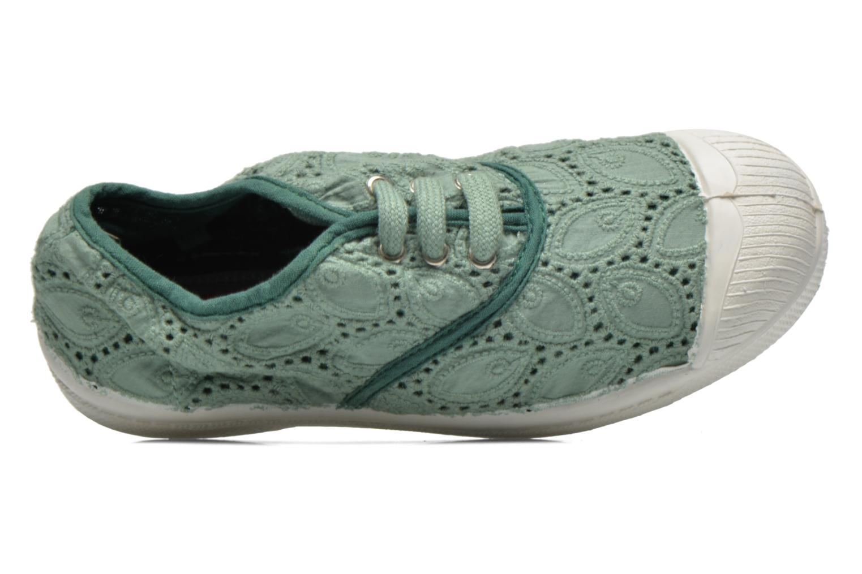 Sneakers Bensimon Tennis Broderie Anglaise E Groen links