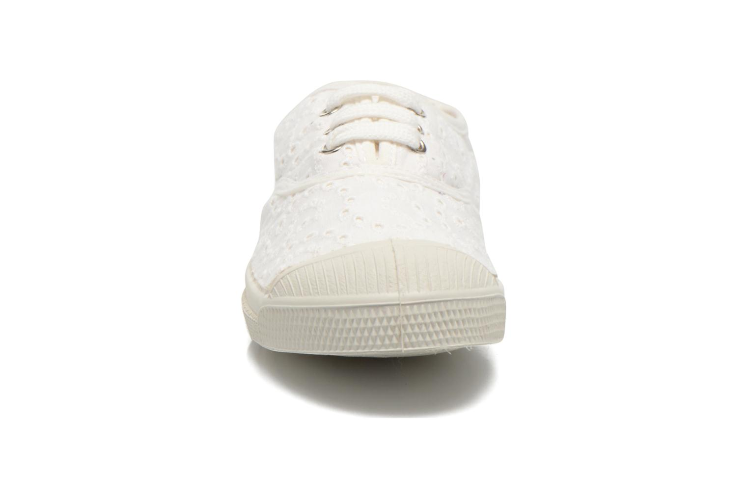 Sneakers Bensimon Tennis Broderie Anglaise E Wit model
