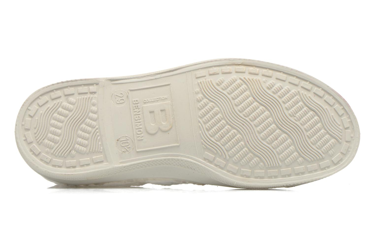 Sneakers Bensimon Tennis Broderie Anglaise E Wit boven