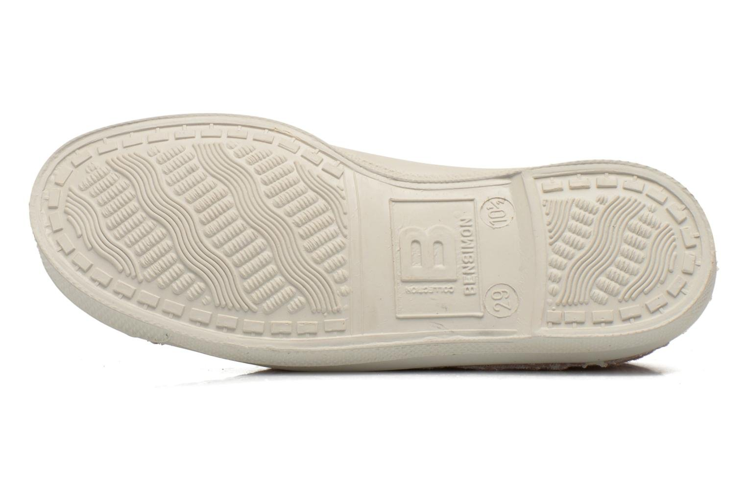 Trainers Bensimon Tennis Broderie Anglaise E Pink view from above