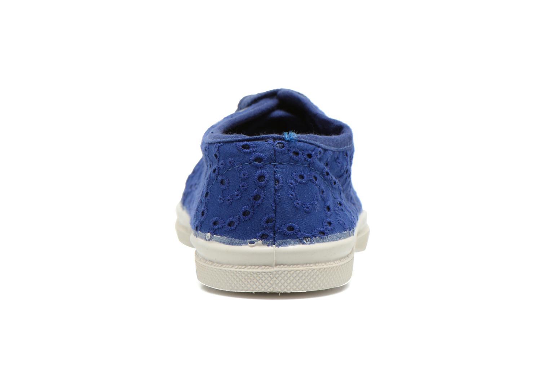 Sneakers Bensimon Tennis Broderie Anglaise E Blauw rechts