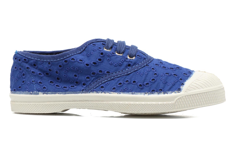 Sneakers Bensimon Tennis Broderie Anglaise E Blauw achterkant