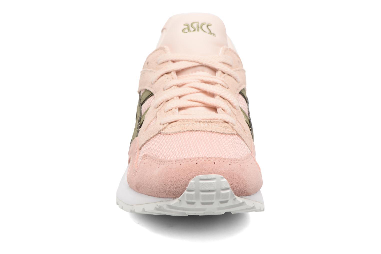 Sneaker Asics Gel-Lyte V W rosa schuhe getragen