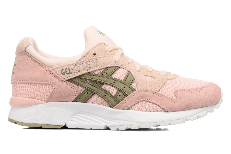 Sneaker Asics Gel-Lyte V W rosa ansicht von hinten