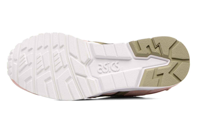Sneaker Asics Gel-Lyte V W rosa ansicht von oben