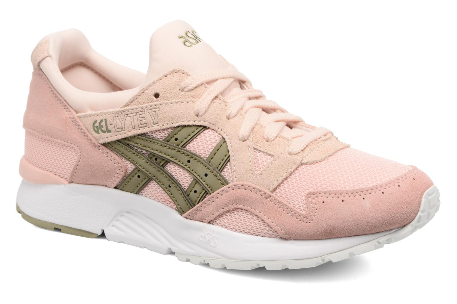 Trainers Asics Gel-Lyte V W Pink detailed view/ Pair view