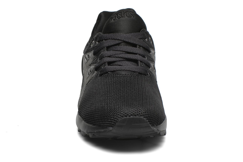 Sneaker Asics Gel-Kayano Trainer Evo W schwarz schuhe getragen