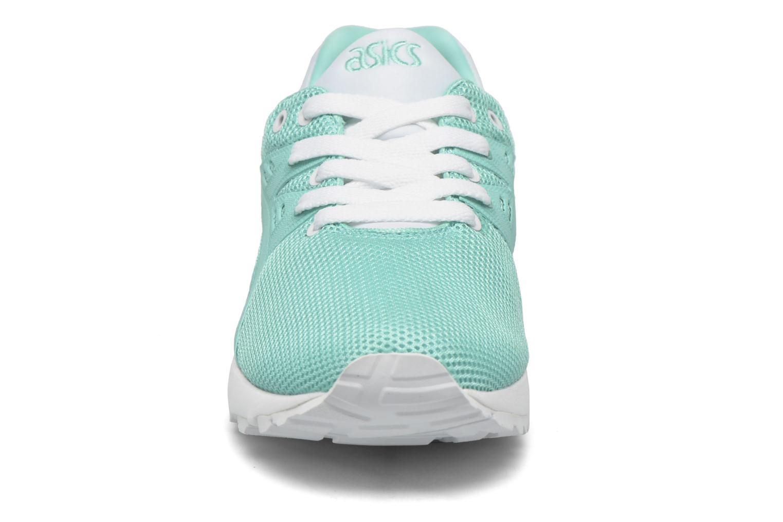 Sneaker Asics Gel-Kayano Trainer Evo W grün schuhe getragen