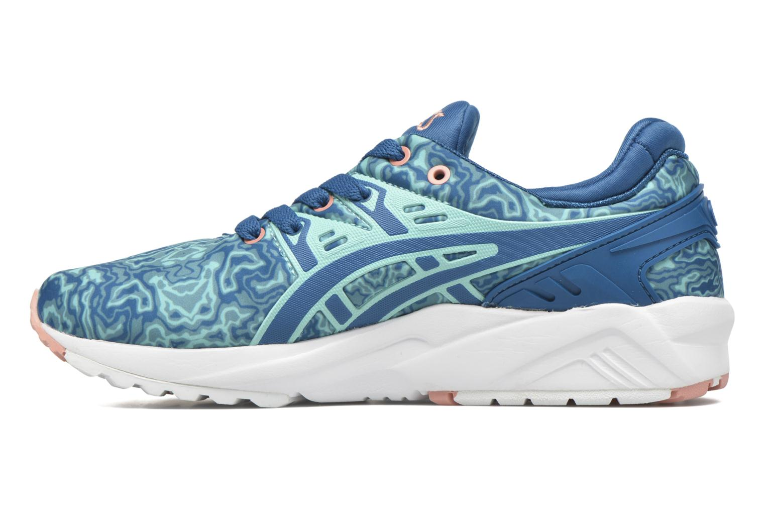 Trainers Asics Gel-Kayano Trainer Evo W Blue front view
