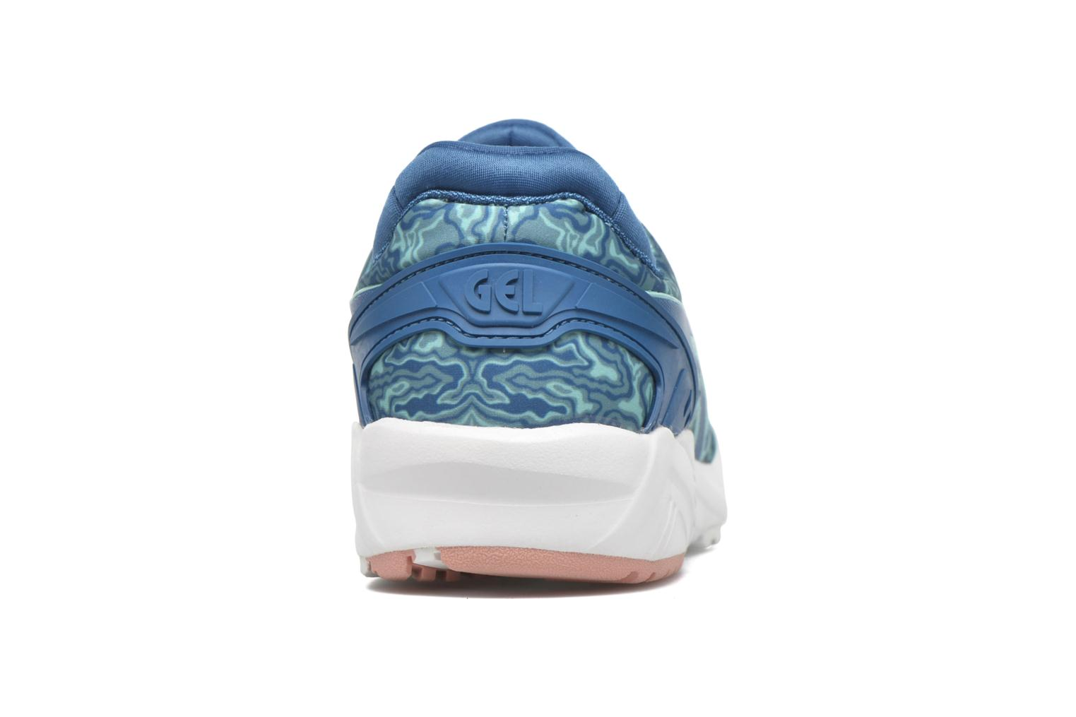 Trainers Asics Gel-Kayano Trainer Evo W Blue view from the right