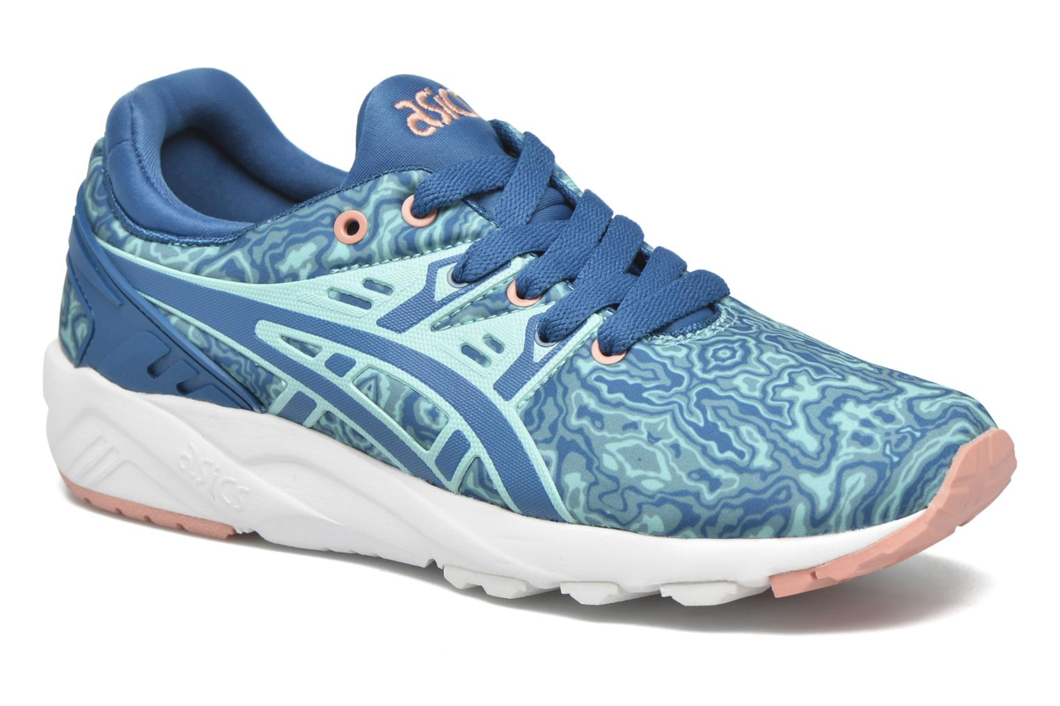Sneakers Asics Gel-Kayano Trainer Evo W Blauw detail