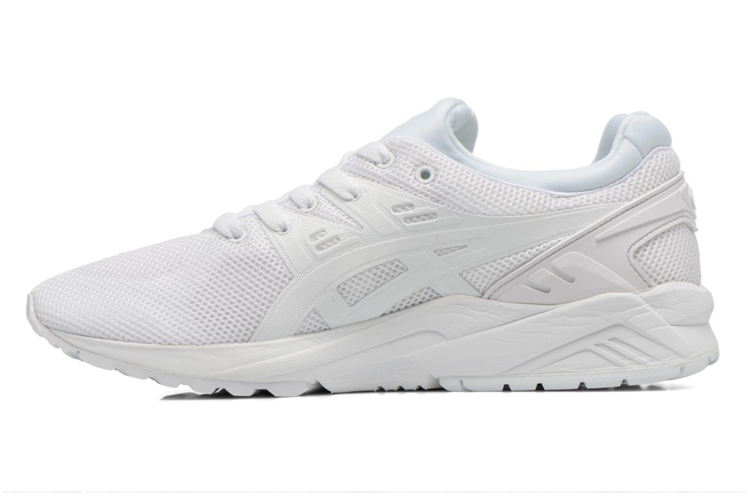 Baskets Asics Gel-Kayano Trainer Evo Blanc vue face