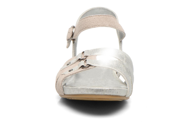 Sandales et nu-pieds Madison Emora Argent vue portées chaussures