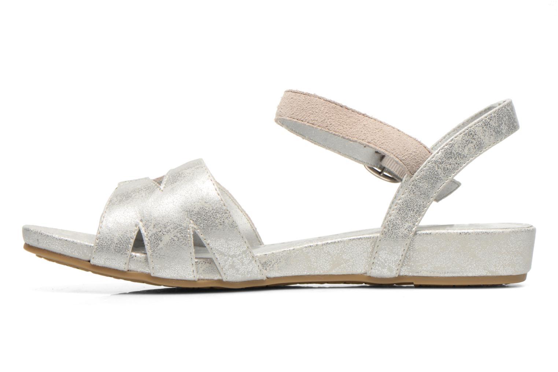 Sandales et nu-pieds Madison Emora Argent vue face