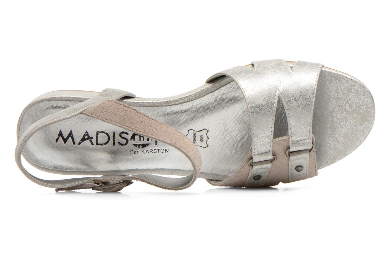 Sandales et nu-pieds Madison Emora Argent vue gauche