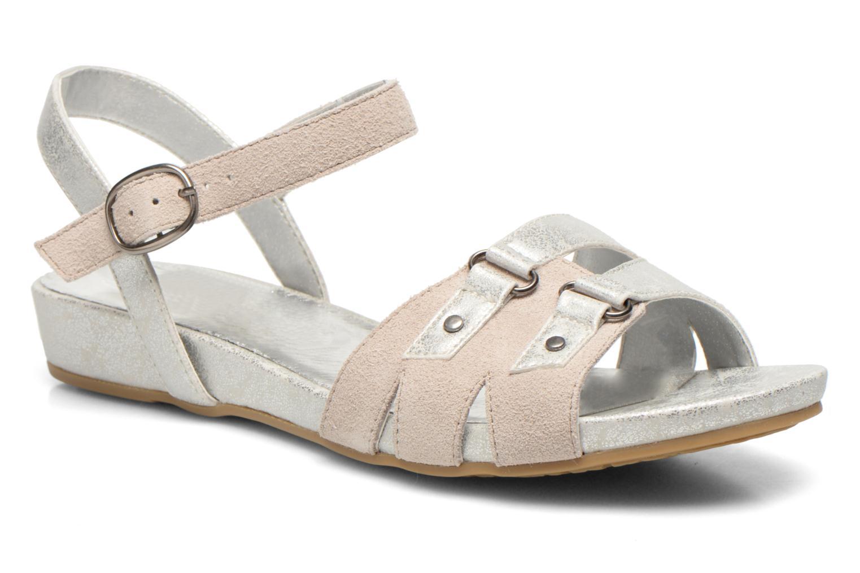 Sandales et nu-pieds Madison Emora Argent vue détail/paire