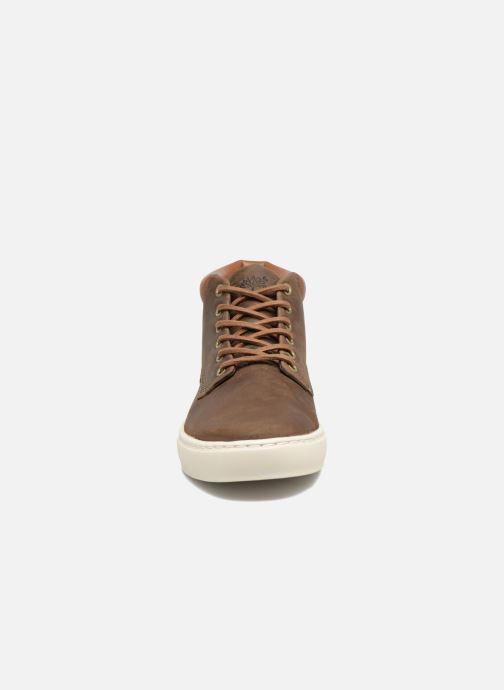 Sneaker Timberland Adventure 2.0 Cupsole Chukka braun schuhe getragen