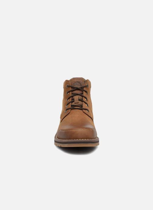 Bottines et boots Timberland Larchmont Chukka Marron vue portées chaussures