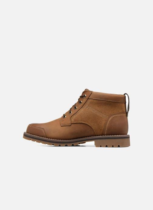 Boots en enkellaarsjes Timberland Larchmont Chukka Bruin voorkant