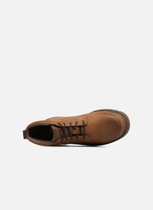 Boots en enkellaarsjes Timberland Larchmont Chukka Bruin links