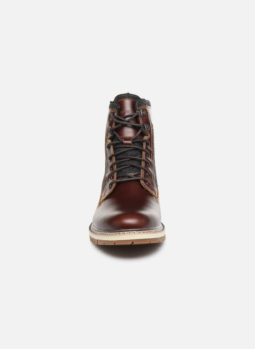 Bottines et boots Timberland Britton Hill 6 in WL L/F Boot NWP Marron vue portées chaussures