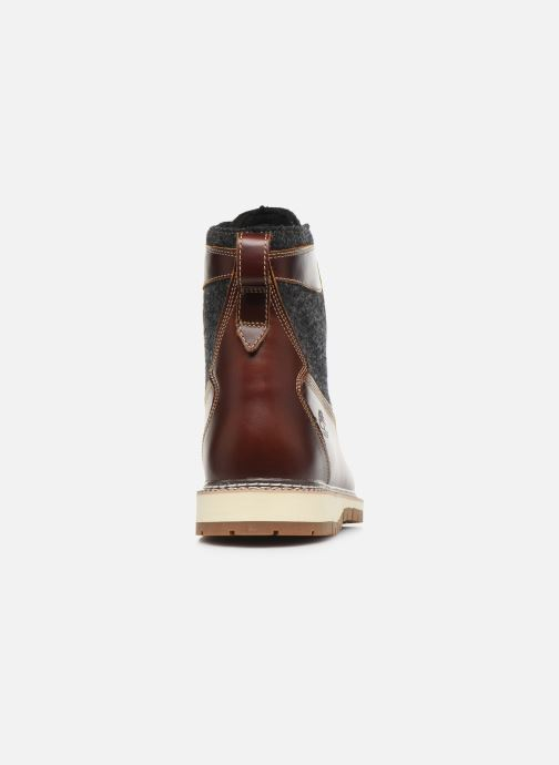 Bottines et boots Timberland Britton Hill 6 in WL L/F Boot NWP Marron vue droite