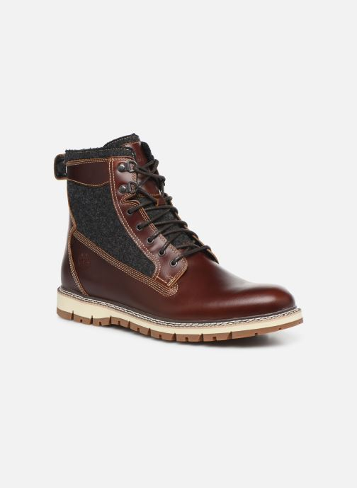 Bottines et boots Timberland Britton Hill 6 in WL L/F Boot NWP Marron vue détail/paire
