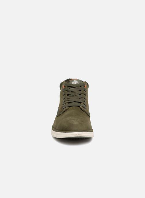 Baskets Timberland Bradstreet Chukka Leather Vert vue portées chaussures