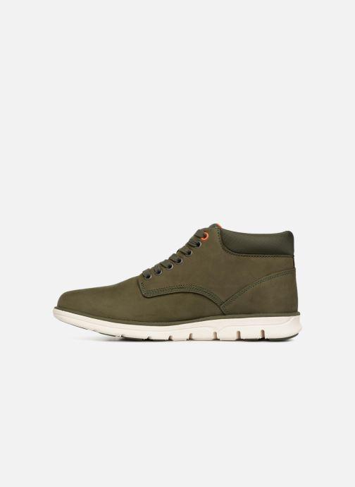 Sneakers Timberland Bradstreet Chukka Leather Groen voorkant