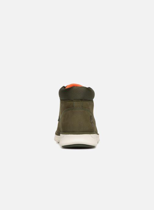 Sneakers Timberland Bradstreet Chukka Leather Zwart rechts