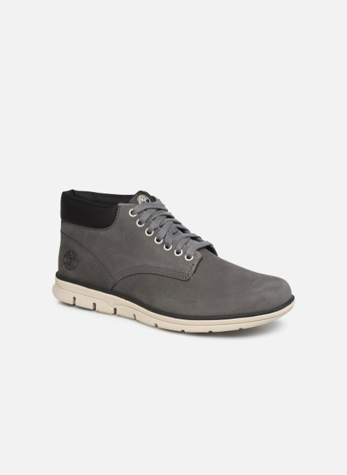 Baskets Timberland Bradstreet Chukka Leather Gris vue détail/paire
