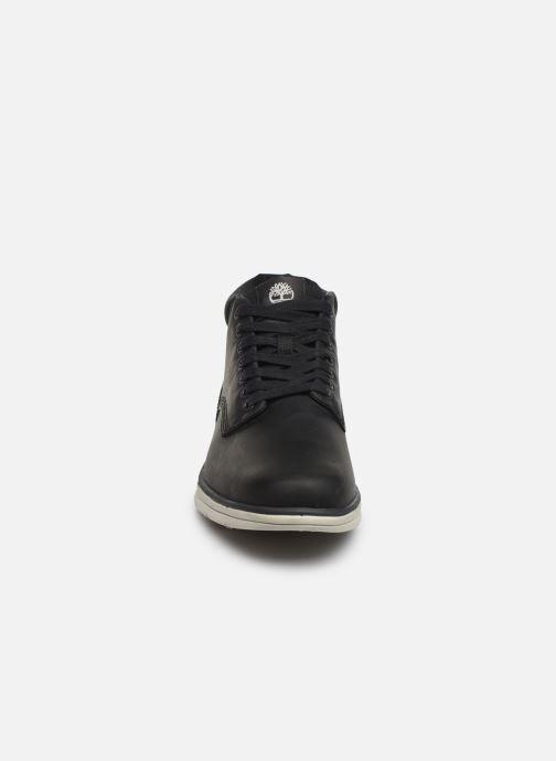 Baskets Timberland Bradstreet Chukka Leather Noir vue portées chaussures
