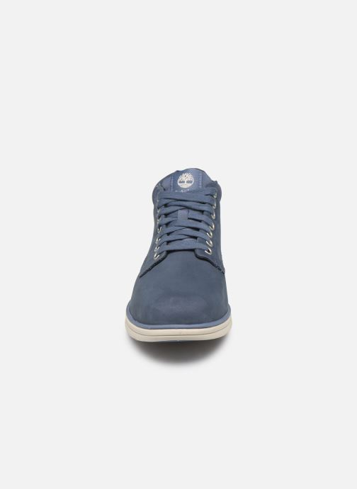 Trainers Timberland Bradstreet Chukka Leather Blue model view