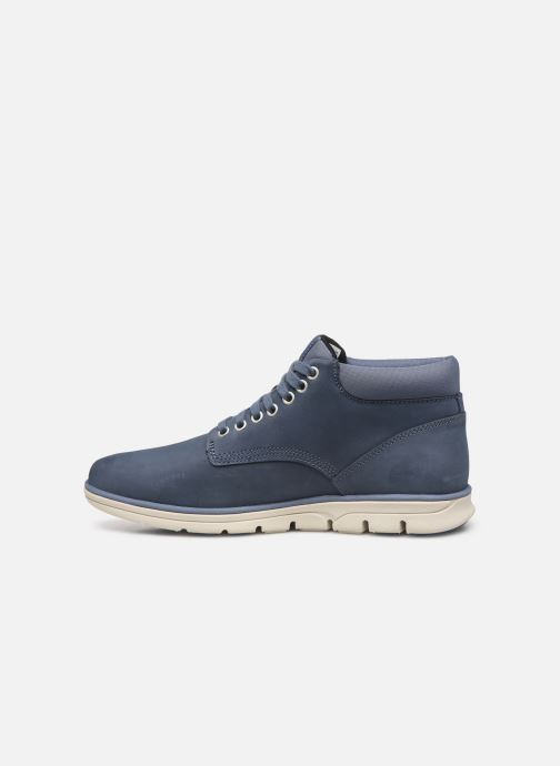 Baskets Timberland Bradstreet Chukka Leather Bleu vue face