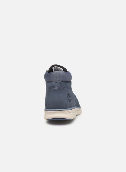 Trainers Timberland Bradstreet Chukka Leather Blue view from the right