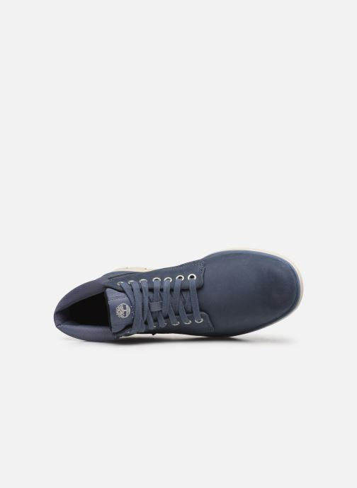 Trainers Timberland Bradstreet Chukka Leather Blue view from the left