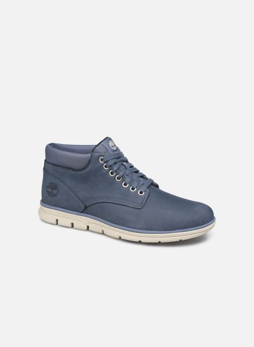 Baskets Timberland Bradstreet Chukka Leather Bleu vue détail/paire