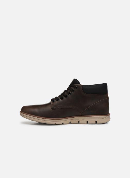 Sneakers Timberland Bradstreet Chukka Leather Marrone immagine frontale