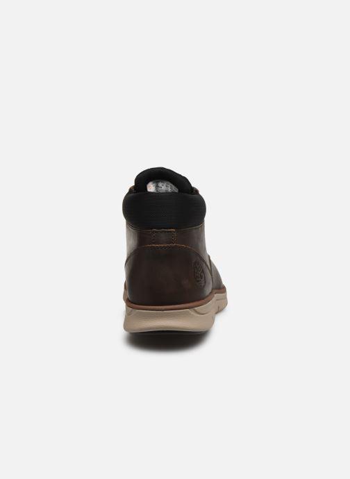 Sneakers Timberland Bradstreet Chukka Leather Marrone immagine destra