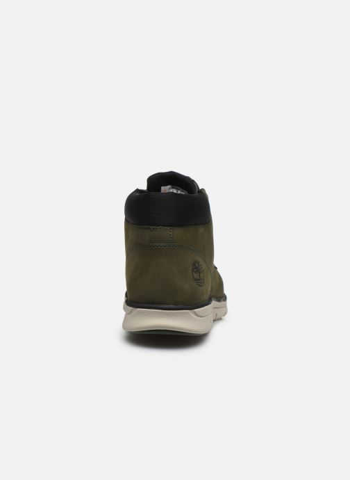 Trainers Timberland Bradstreet Chukka Leather Green view from the right