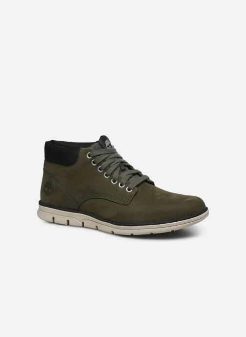 Trainers Timberland Bradstreet Chukka Leather Green detailed view/ Pair view