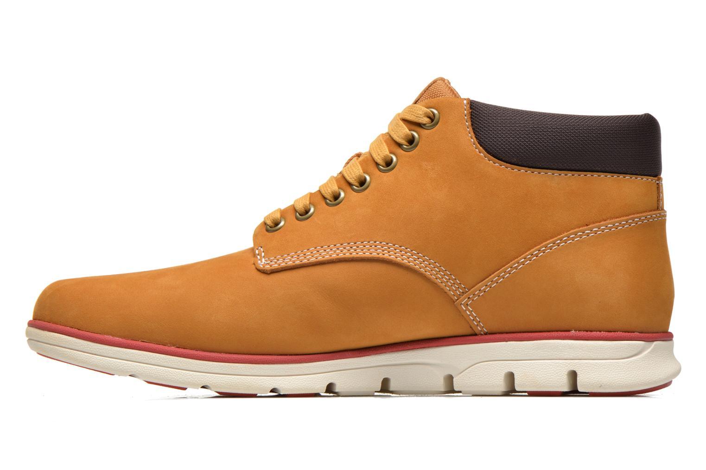 Sneaker Timberland Bradstreet Chukka Leather beige ansicht von vorne
