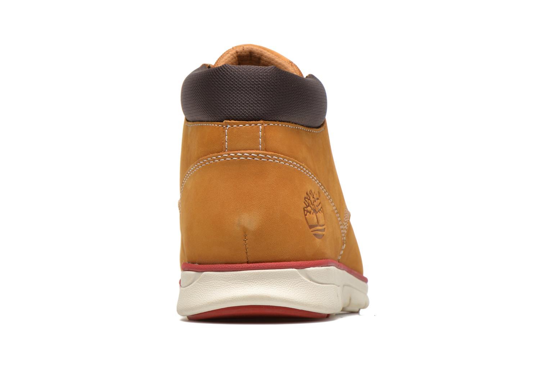 Sneaker Timberland Bradstreet Chukka Leather beige ansicht von rechts