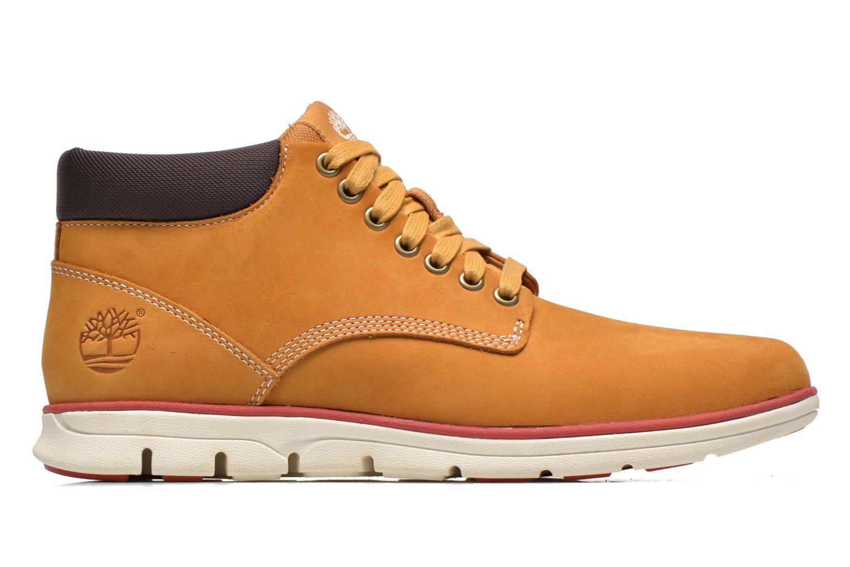 Sneaker Timberland Bradstreet Chukka Leather beige ansicht von hinten