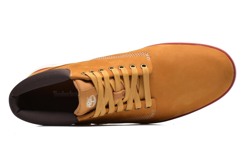 Sneaker Timberland Bradstreet Chukka Leather beige ansicht von links
