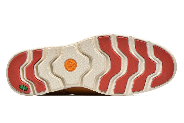 Sneaker Timberland Bradstreet Chukka Leather beige ansicht von oben