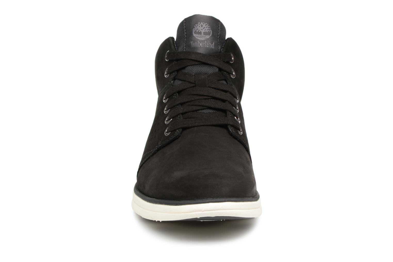 Baskets Timberland Bradstreet Half Cab Noir vue portées chaussures